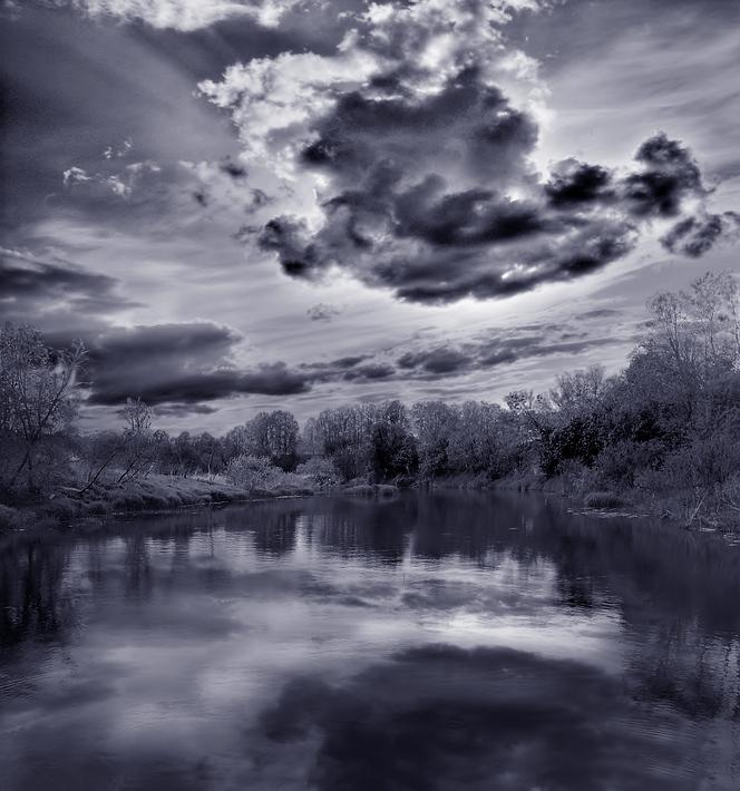 """фото """"В полдень"""" метки: пейзаж, облака"""