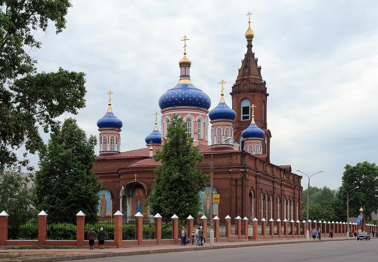"""фото """"Орехово-Зуево. Собор Рождества Богородицы"""" метки: архитектура, пейзаж,"""