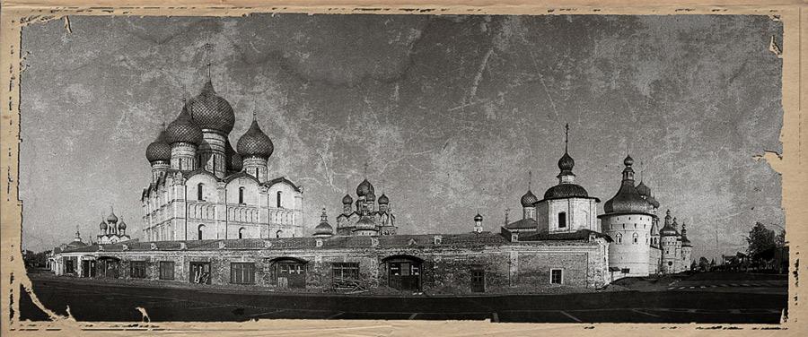 """фото """"Ростовский Кремль"""" метки: архитектура, путешествия, пейзаж, Европа"""