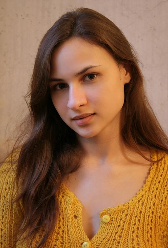 """фото """"Портрет девушки в желтом"""" метки: портрет, женщина"""