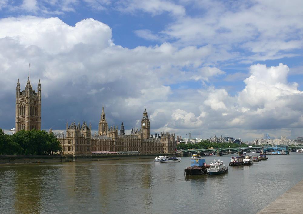 "фото ""Classic London scene"" метки: архитектура, пейзаж, вода"