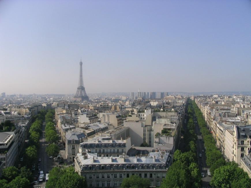 "фото ""Summer in Paris"" метки: панорама, архитектура, пейзаж,"