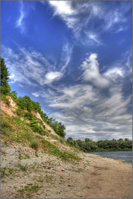 "фото ""Уфимка.Правый берег..."" метки: пейзаж, лето"