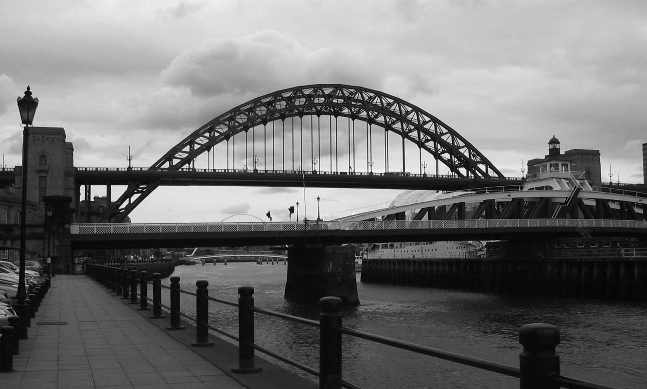 """фото """"Tyne Bridges"""" метки: черно-белые,"""