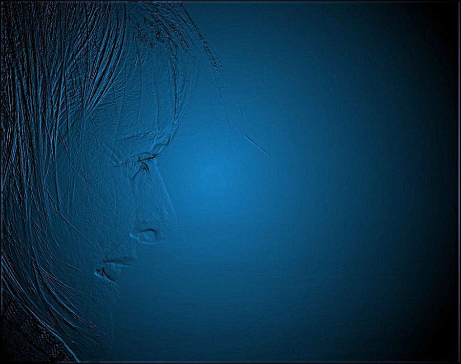 """фото """"BLUE face"""" метки: техника,"""