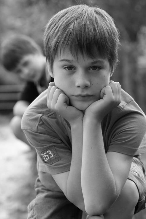 """фото """"The lazy evening"""" метки: портрет, дети"""