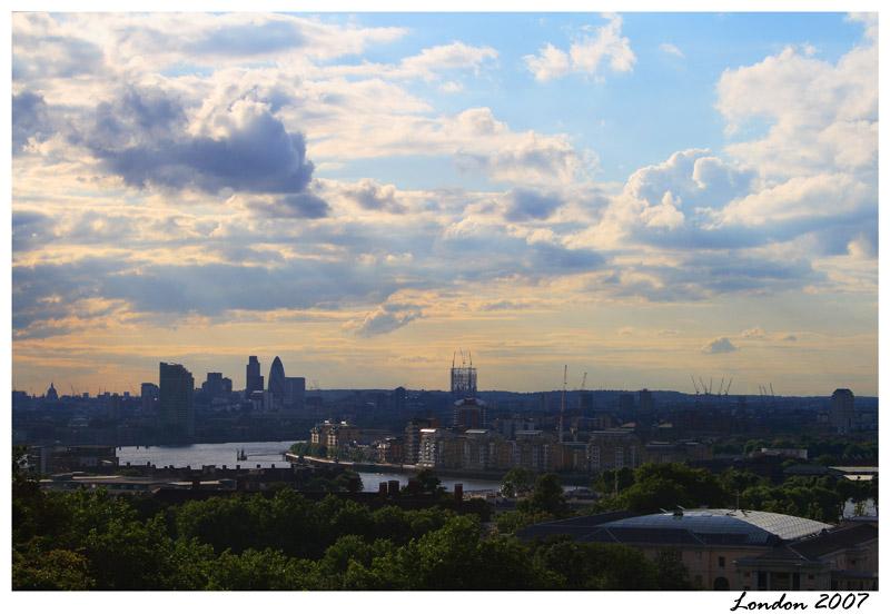 """фото """"London #4 (Greenwitch observatory view)"""" метки: пейзаж, путешествия, Европа"""