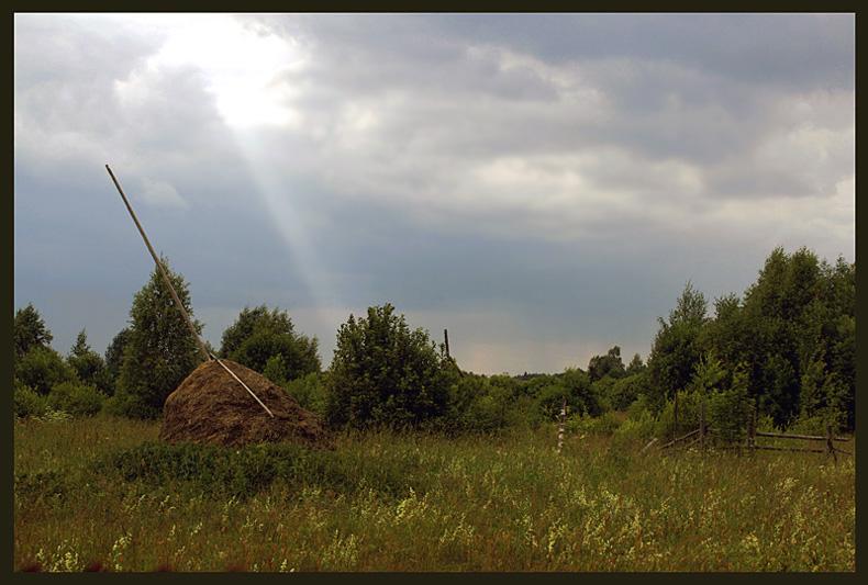 """фото """"Перед грозой"""" метки: пейзаж, лето"""