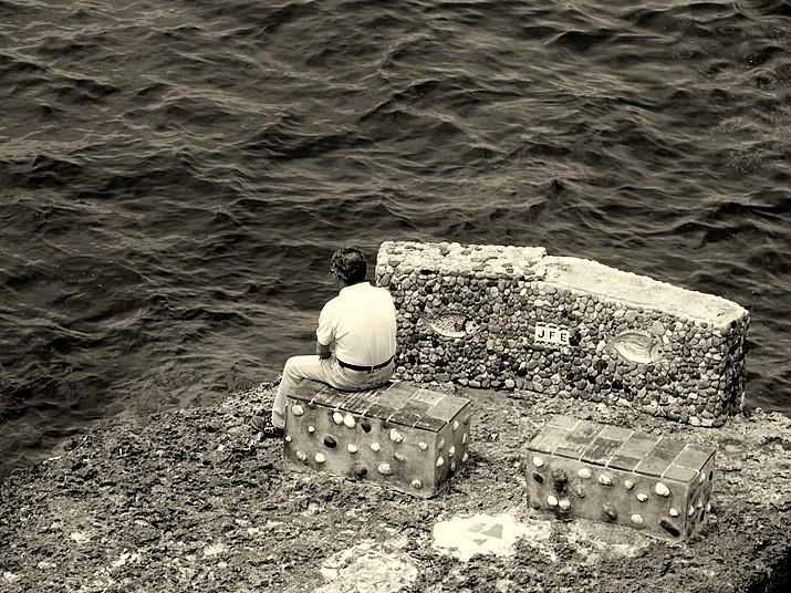"фото ""It's so said ...to be alone ..."" метки: портрет, мужчина"