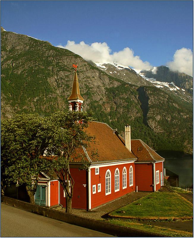 "фото ""Norwegian morning"" метки: архитектура, пейзаж,"