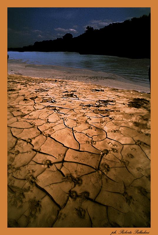 "фото ""Nocturne on the river 2"" метки: пейзаж, фотомонтаж,"