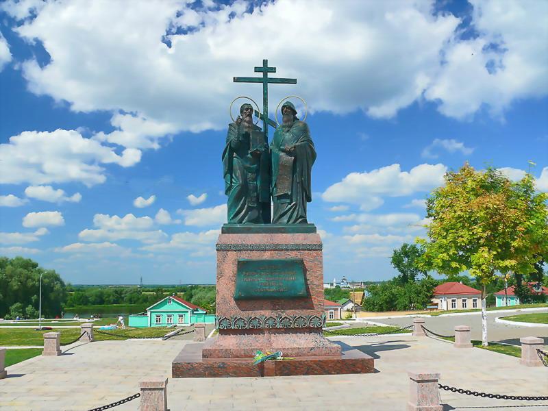 "фото ""Памятник Кириллу и Мефодию"" метки: ,"