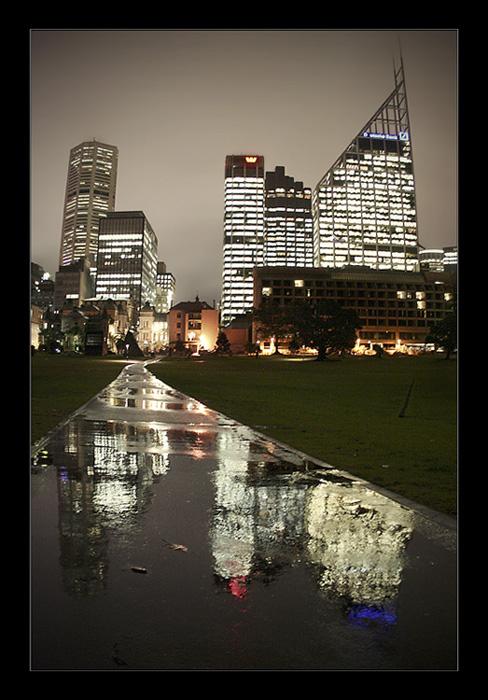 """фото """"Wet Winter Night"""" метки: архитектура, город, пейзаж,"""