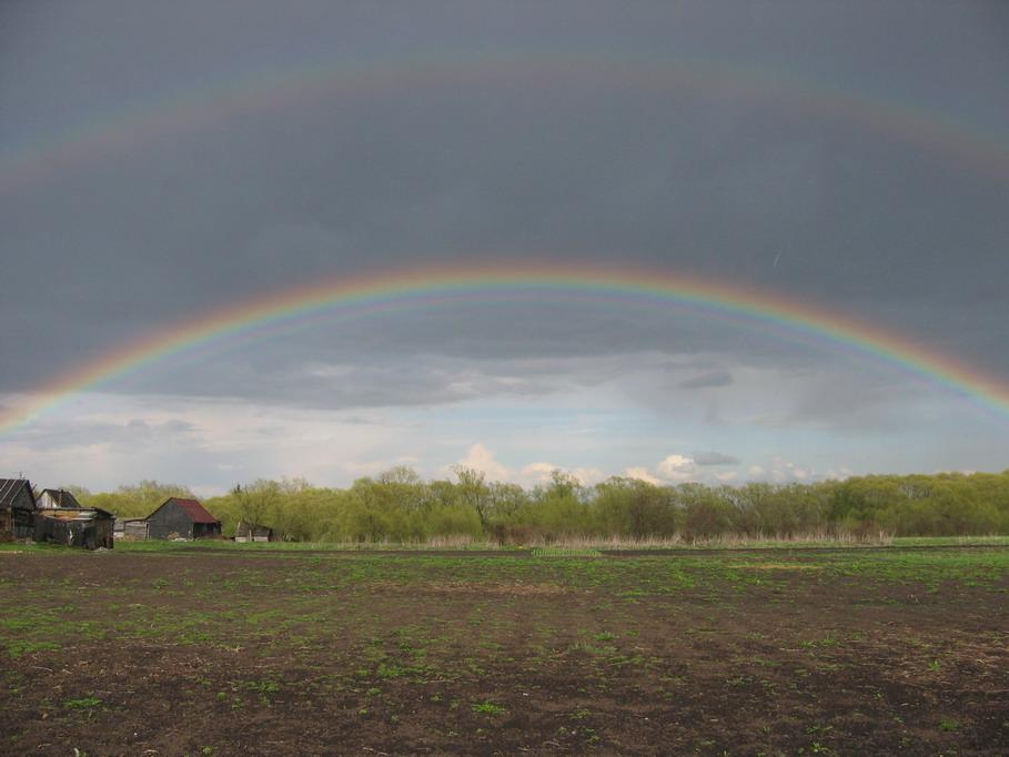 """фото """"Две радуги"""" метки: пейзаж, лето"""