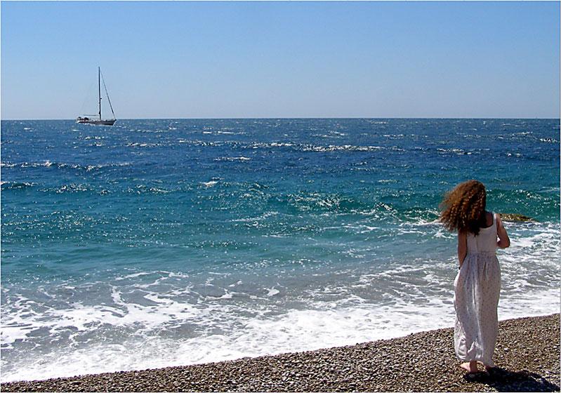 """фото """"Ассоль"""" метки: пейзаж, жанр, вода"""