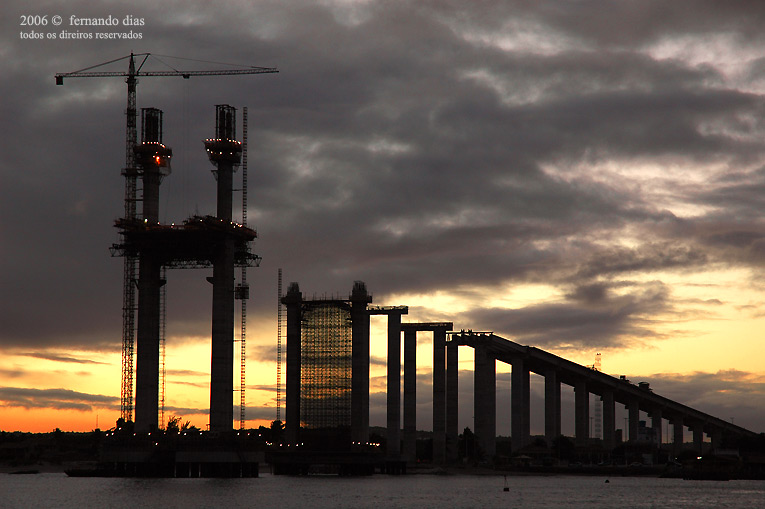 "фото ""Ponte forte-Redinha (Natal-Brazil)"" метки: путешествия, Южная Америка"