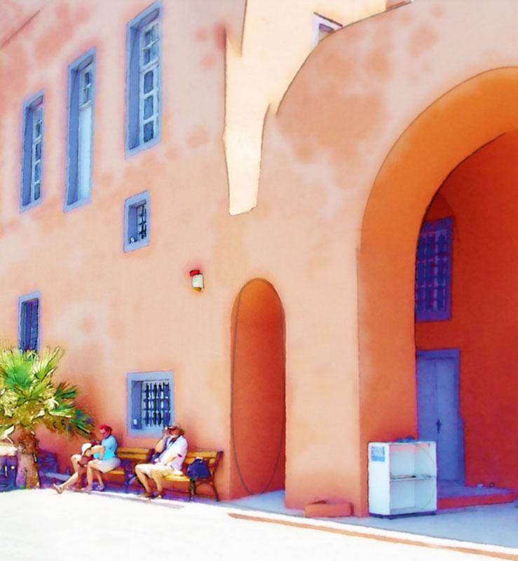"""фото """"Greek Scenery"""" метки: архитектура, город, пейзаж,"""