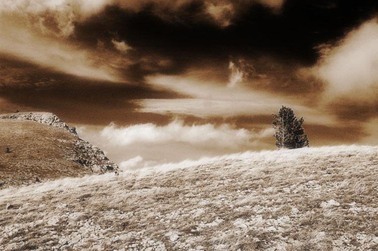 "фото ""На краю пропасти"" метки: пейзаж, горы"