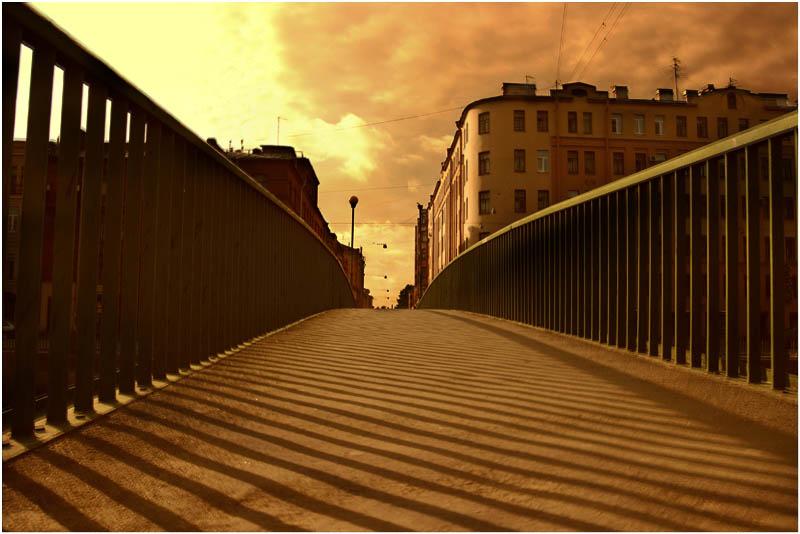 """фото """"мост через Фонтанку"""" метки: пейзаж,"""