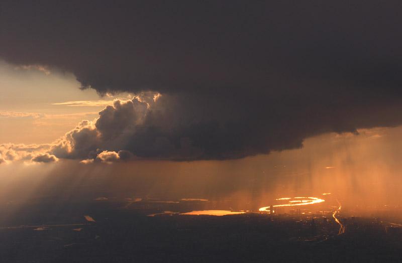 """фото """"City of Heaven"""" метки: пейзаж, закат"""