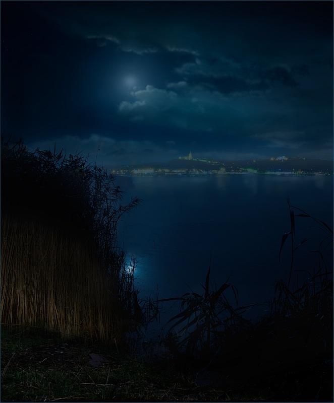 "фото ""Замри, душа!"" метки: пейзаж, вода, ночь"