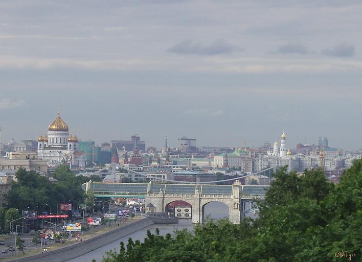 """фото """"Город в дымке ..."""" метки: архитектура, город, пейзаж,"""