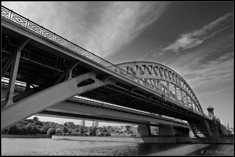 """фото """"железнодорожно-мостовой этюд"""" метки: город,"""