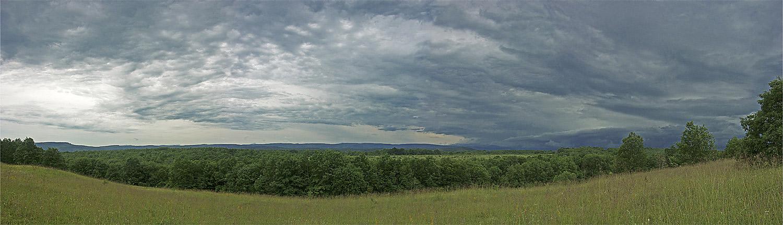 """фото """"Скоро дождь..."""" метки: пейзаж, лето, облака"""