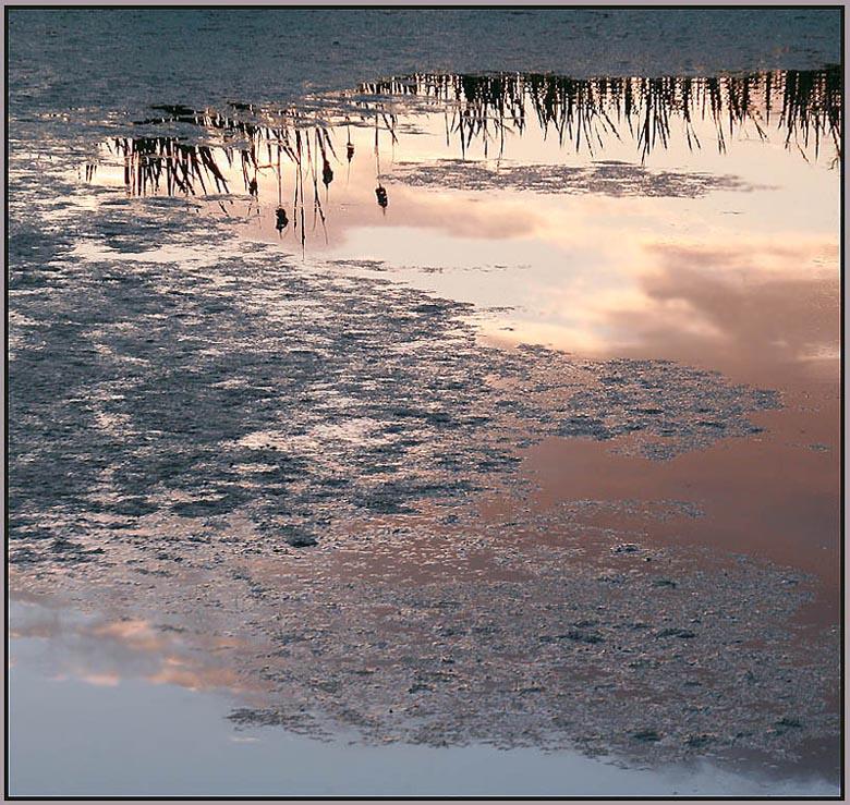 """фото """"Перламутровый закат"""" метки: пейзаж, вода, закат"""