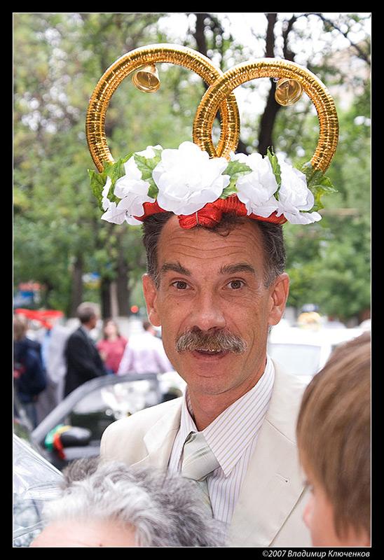 """фото """"Свадебное"""" метки: портрет, юмор, мужчина"""