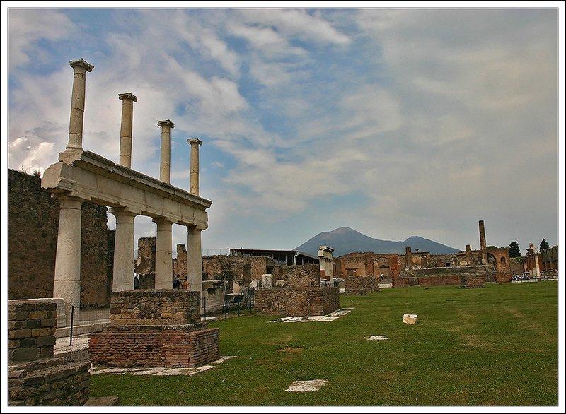 """фото """"Помпеи..."""" метки: путешествия, архитектура, пейзаж, Европа"""