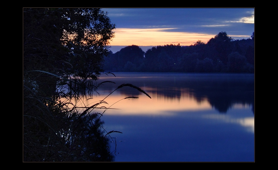 "фото ""И соловьи поют.."" метки: пейзаж, вода, закат"