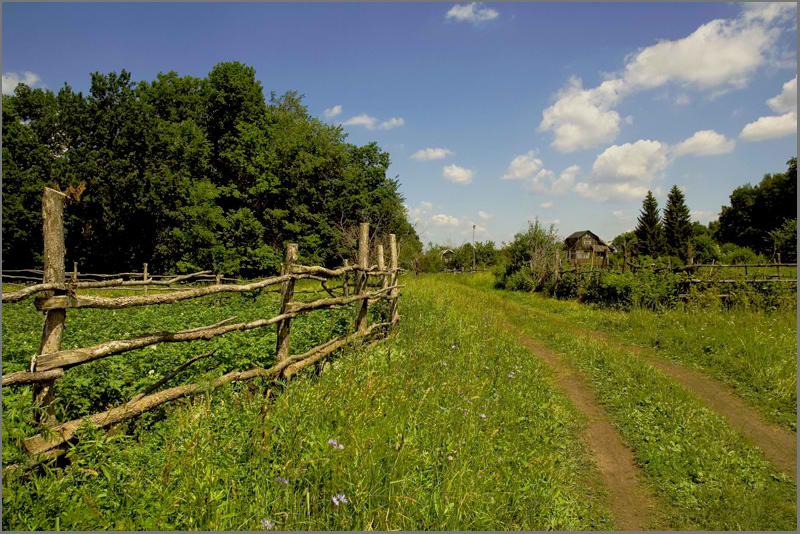 """фото """"Хорошо в деревне..."""" метки: пейзаж, лето"""