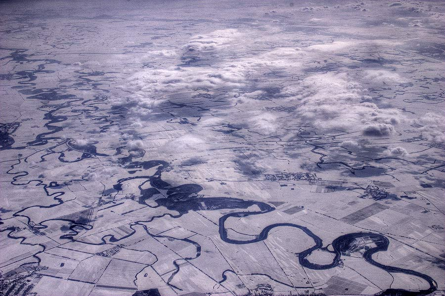 "фото ""сверху"" метки: путешествия, пейзаж, Европа, зима"