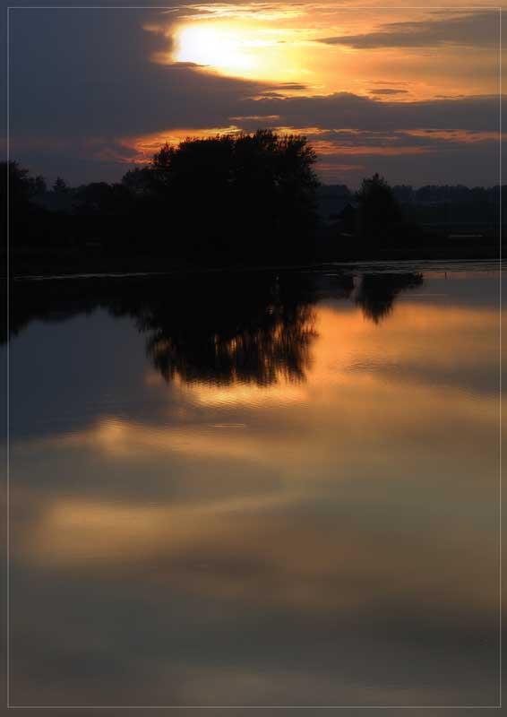 """фото """"Небесный ютюд"""" метки: пейзаж, вода"""