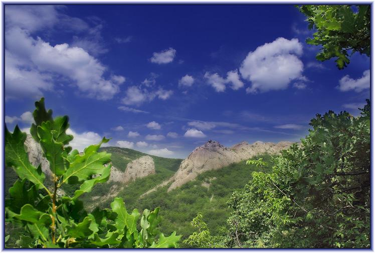 """фото """"Крымские горы"""" метки: пейзаж, горы"""