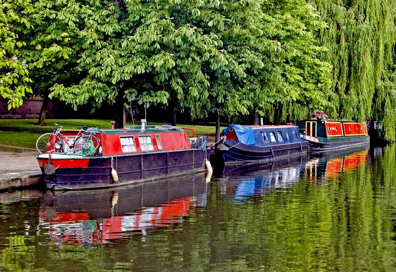 "фото ""Houseboat Vacation"" метки: пейзаж, вода"