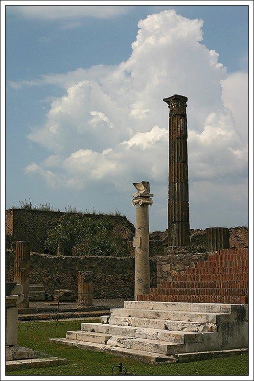 """фото """"Помпеи..."""" метки: архитектура, путешествия, пейзаж, Европа"""