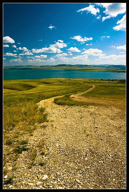 "фото ""Озеро Иткуль"" метки: пейзаж, вода, облака"