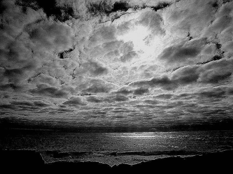 "фото ""When the Sky kisses the Sea...."" метки: пейзаж, вода"