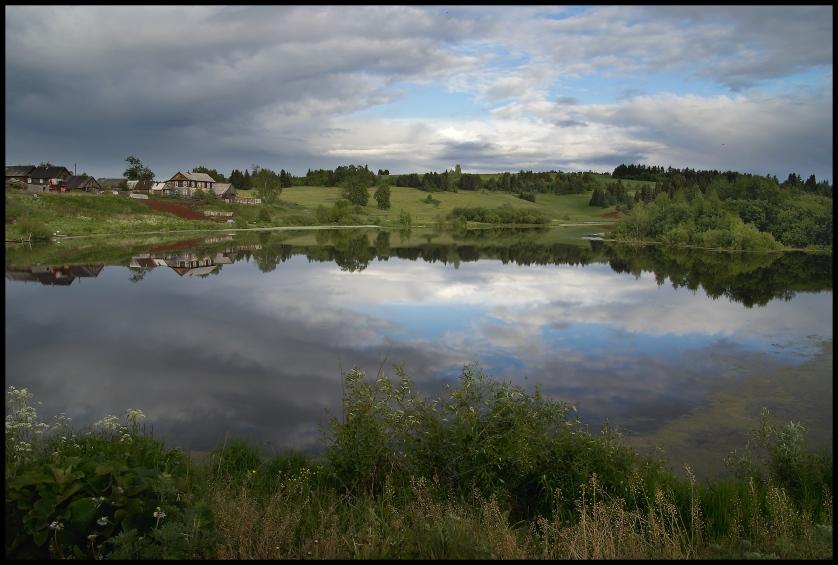 """фото """"Отражение"""" метки: пейзаж, лето"""