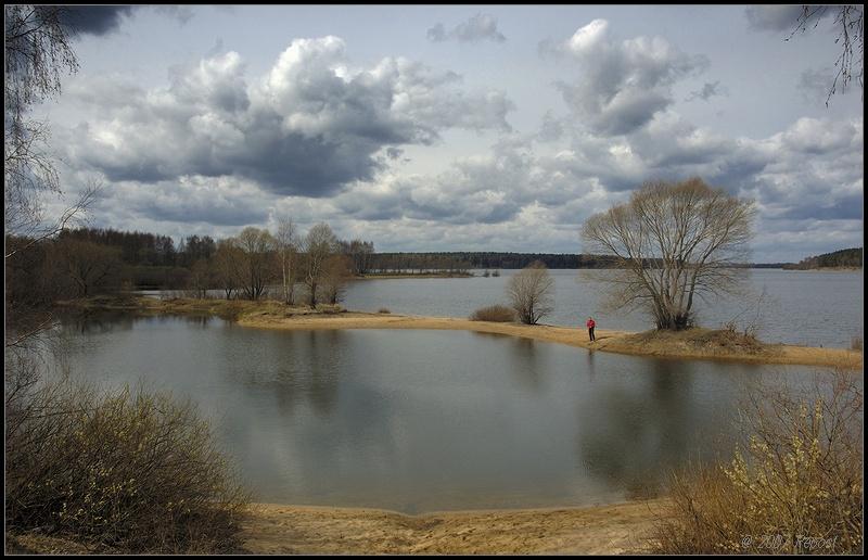 """фото """"на р.Озерне"""" метки: пейзаж, вода"""