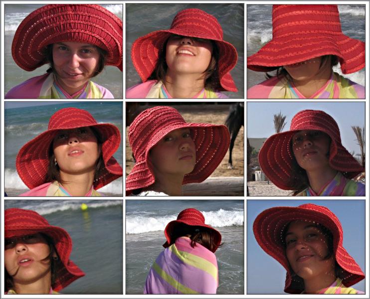 """фото """"Красная шляпа"""" метки: портрет, юмор, женщина"""