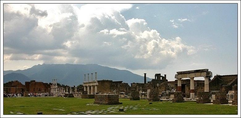 "фото ""Помпеи...Форум..."" метки: архитектура, путешествия, пейзаж, Европа"