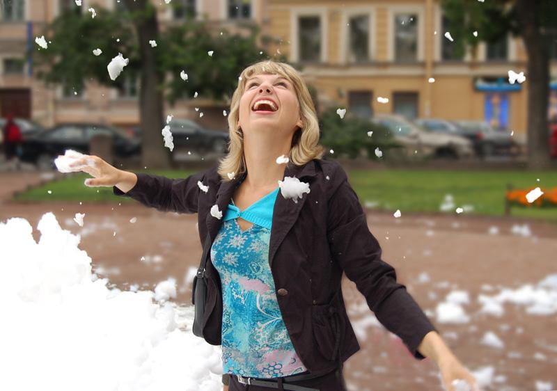 """фото """"Июльский снег"""" метки: жанр, разное,"""
