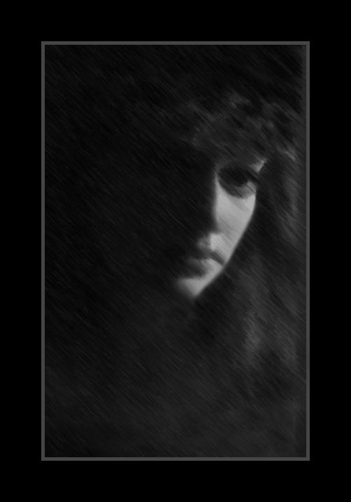 """фото """"Печаль"""" метки: черно-белые,"""