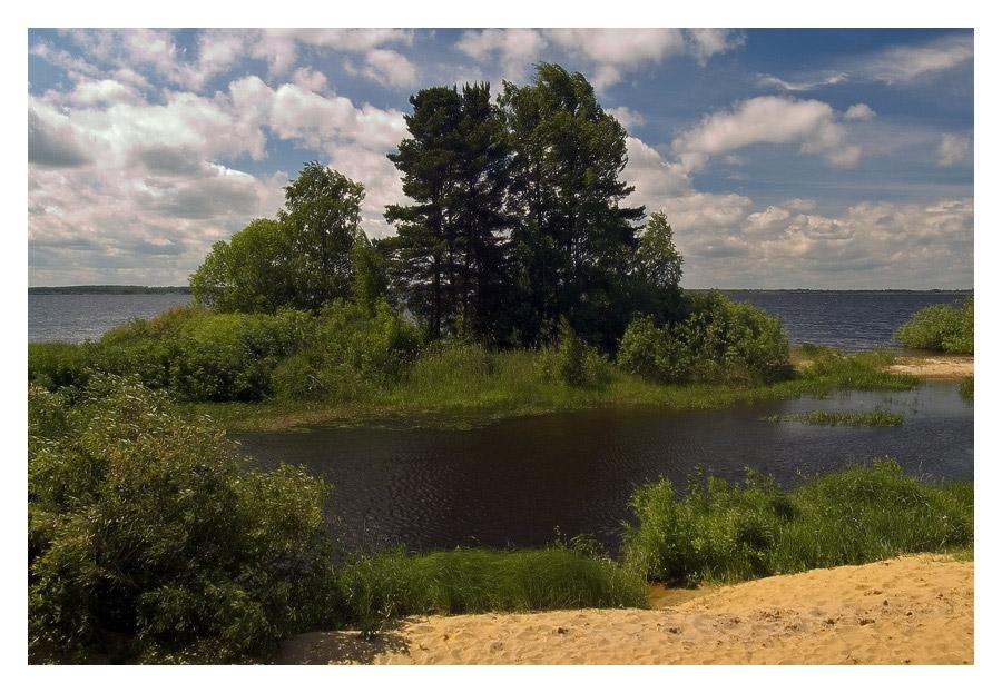 "фото ""Ветреная бухта"" метки: пейзаж, вода, лето"