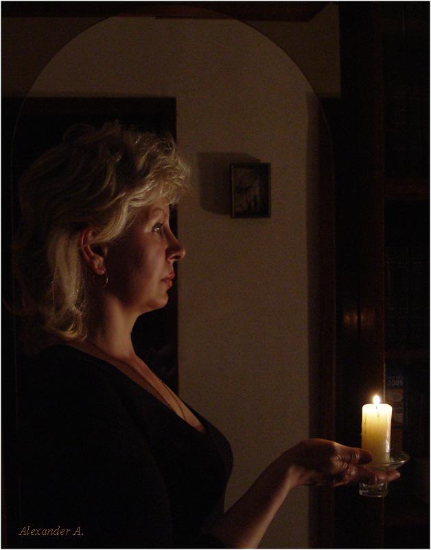 """фото """"Вечернее настроение"""" метки: портрет, женщина"""