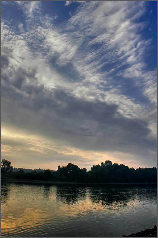 "фото ""Около семи утра..."" метки: пейзаж, закат"