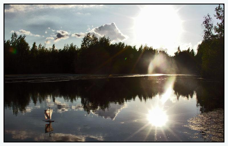 """фото """"белеет парус... в полный штиль"""" метки: пейзаж, путешествия, вода"""